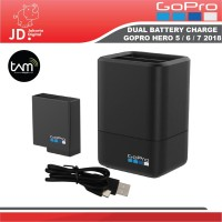 Jakarta Digital GOPRO DUAL BATTERY CHARGER WITH BATTERY FOR HERO 5 & 6