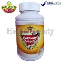 Nature's Boss Natural Fish Oil Coreway Omega 3 - 100 Softgels - Stroke