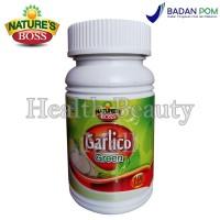 Nature's Boss Garlico Green 100 Softgels - Mengurangi Lemak Darah