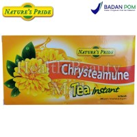 Nature's Pride Chrysteamune Tea Instant 10 Sachet - Teh Chrysanthemum