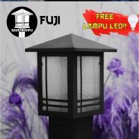 Lampu Taman Minimalis Pilar Fuji