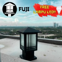 Lampu Taman Minimalis Pilar 02 - Kuncup Topi