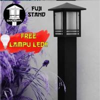 Lampu Taman Minimalis Fuji Stand
