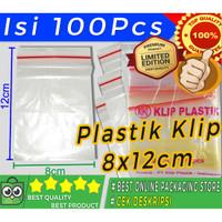 PLASTIK KLIP 8X12 CM TERMURAH