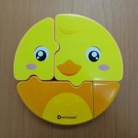 Lunch Box Kotak Makan / Rantang Anak Puzzle Set Technoplast Duck