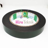 NIPPON TAPE Double Tape Foam 1 inch 5 Meter Double Tape Hijau Busa