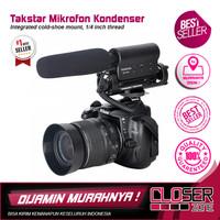 Takstar Mikrofon Kondenser Kamera - SGC-598 - Black