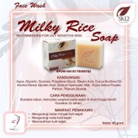 Milk Rice Soap|Solusi Minyak Berlebih,Kulit Kusam & Kering,Noda Wajah