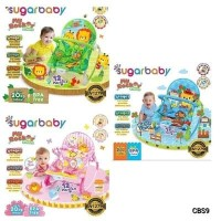 Sugar Baby Bouncer My Rocker Murah dan Baru - Biru Muda