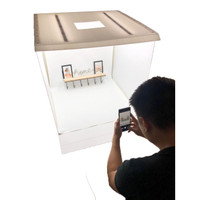 Impodio box Studio photo ukuran 75 x 75