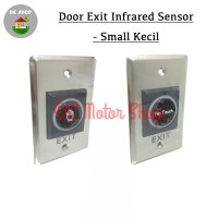 Contactless Exit Button Access Control Infrared No Touch Door 115x72mm