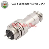GX12 Aviation Plug 2 Pin Male Female Panel Wire Connector 12mm AN07