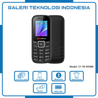 Hp Strawberry Bomb 1205 Handphone Candybar HP Murah Dual SIM Bluetooth