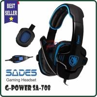 Headset gaming SADES G-Power SA708 Good Quality Sound