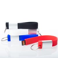 Souvenir Promosi Logo Perusahaan USB Flashdisk Gelang Sport