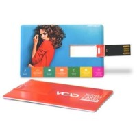 Souvenir Promosi Logo Perusahaan USB Flashdisk Credit Card
