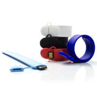 Souvenir Promosi Logo Perusahaan USB Flashdisk Gelang Sport Slap