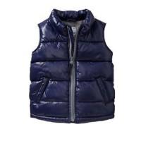 Vest jaket anak laki branded ori Old Navy dongker winter jacket boy