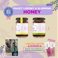 Paket Limoney Slimming - Herbal Premium Diet Slimming - 500 ml