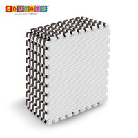 IMAGE TOYS edumat karpet matras evamat puzzle tikar Black White [8Lbr]