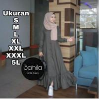 Gamis Jumbo Terbaru Ukuran S M L XL XXL 3XL 5XL Sahila Dress