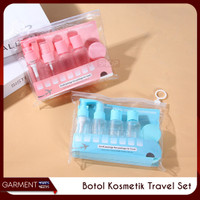 Botol Kosmetik Travel Set Sabun Cair Spray Pump