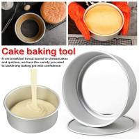 Loyang Loose Base 8 Inch Round Cake Pan 8in Bulat Kue Bongkar Pasang