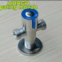 stop kran air cabang/ stop kran T/stop kran Tee stainless sus 304