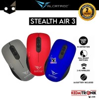 Mouse Wireless Alcatroz Optical Mouse Stealth Air 3 Portable Silent