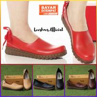 Sepatu Wanita Terlaris Kode IKB Merah by Leeshoes Official Store ORI