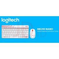 Sh4966 Logitech Mk240 Keyboard Dan Mouse Bundle Mini Combo Wireless