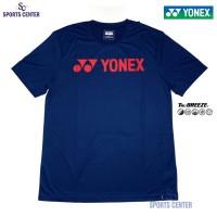 Kaos / Jersey Yonex Classic TruBreeze 1007 Navy Peony / Fiery Red