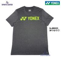 Kaos / Jersey Yonex Melange 1007M Tru Breeze Jet Black / Acid Lime