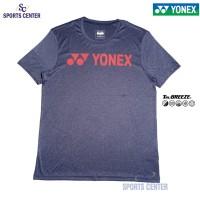 Kaos / Jersey Yonex Melange 1007M Tru Breeze Patriot Blue / Hot Coral