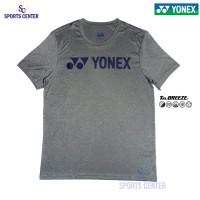 Kaos / Jersey Yonex Melange 1007M TruBreeze Smoke Pearl / Patriot Blue