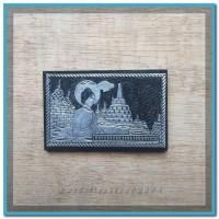 Magnet Kulkas Jogja/Borobudur Monochrome