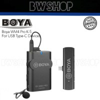 Boya BY-WM4 Pro-K5 Wireless Microphone - Boya WM4 Pro K5