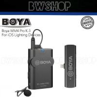 Boya BY-WM4 Pro-K3 Wireless Microphone - Boya WM4 Pro K3