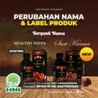 Healthy Dates - Sari Kurma Murni