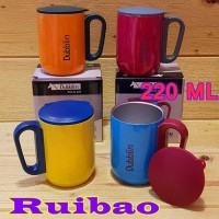 Gelas Kopi Mug 220 ml / Gelas Coffe Vacuum CUP