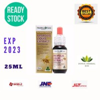 Propolis Liquid Extract Healthy Care 25ml Alcohol Free