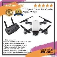 DJI Spark Controller Combo Alpine White Drone Camera