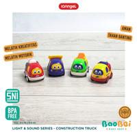 IQ Angel Construction Truck Toys - Mainan Bayi Karakter Mobil Truck