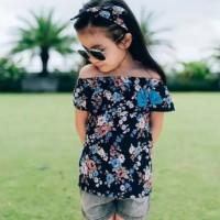 Atasan Anak Motif Bunga