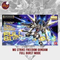 MG Strike Freedom Gundam Full Burst Mode - ORIGINAL GUNDAM BANDAI