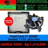 intel Core I7 2600S Socket 1155 plus Fan