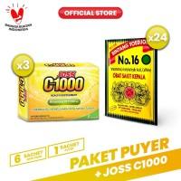 Paket Puyer No 16 + Joss C1000 Vitamin C Sehat