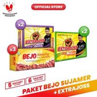 Paket Bejo (SUJAMER) Susu Jahe Merah + Extra Joss Kuat 1
