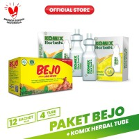 Paket Bejo + Komix Herbal Tube Masuk Angin