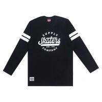SKATERS T-SHIRT SF014 BLACK